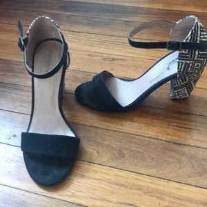 Xhilaration black heels